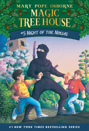 Magic Tree House #5- Night of the Ninjas