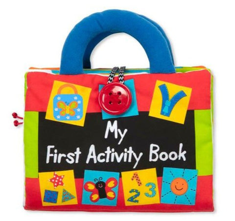 Melissa & Doug first activity cloth book