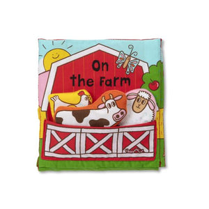 Melissa & Doug on the farm cloth book