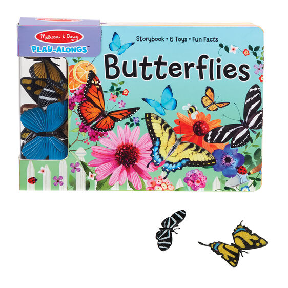 Melissa & Doug play alongs- butterflies