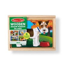Melissa & Doug pet puzzles in a box