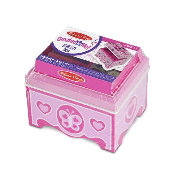 Melissa & Doug decorate your own jewelry box