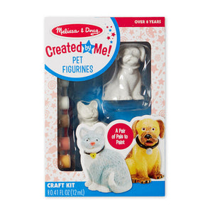 Melissa & Doug decorate your own pet figurines