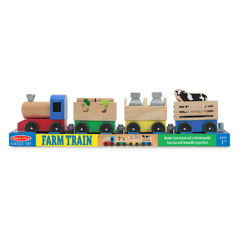Melissa & Doug farm train set