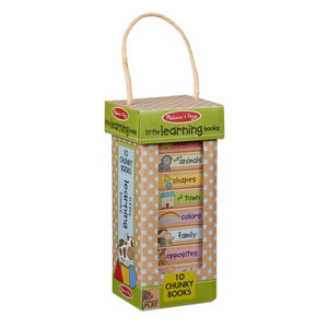 Melissa & Doug learning book tower: little learning