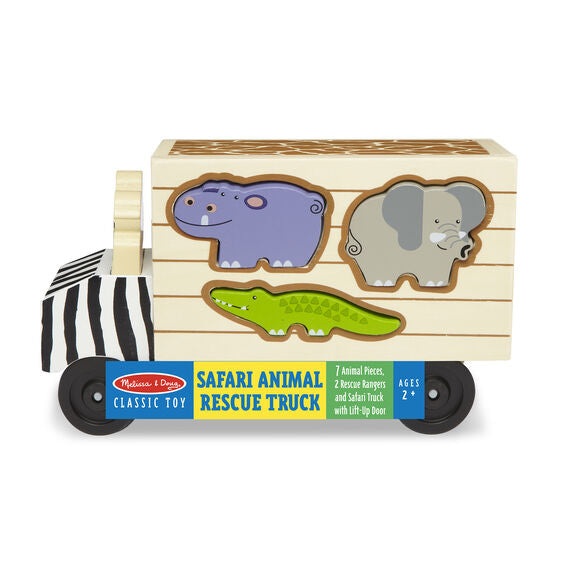 Melissa & Doug animal rescue shape sorting
