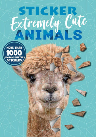 Sticker Puzzles: Extremely Cute Animals