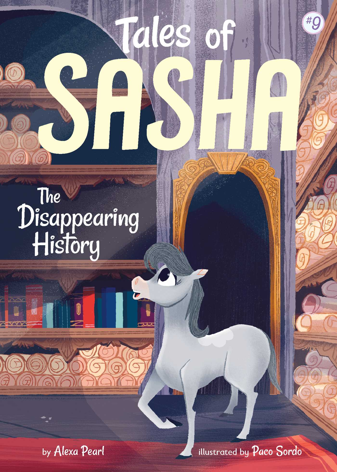 Tales of Sasha #9- The Diasappearing Mystery