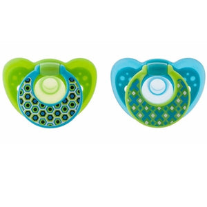 Gumdrop 2 pack infant pacifier- 6-18 month