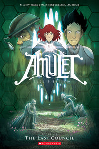 Amulet 4 The Last Council Graphic Novel Comics Science Fiction Fantasy Fiction Adventure Fiction Scholastics