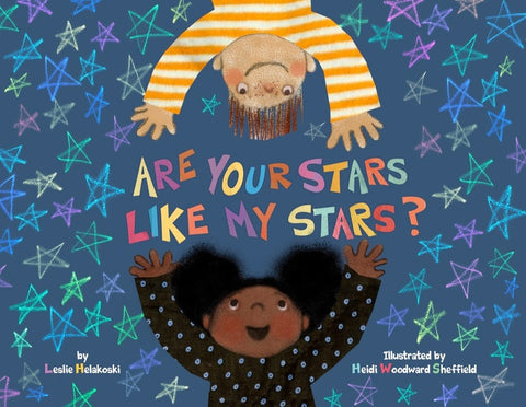 Are your stars like my stars? Children's Literature, Picture book,