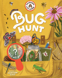 Backpack Explorer: Bug Hunt. Informative activity book on how to find bugs and ways to catch them. Children's Non-Fiction Literature.