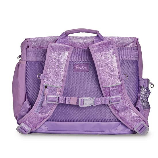 Bixbee Large Lavender Sparkle Backpack