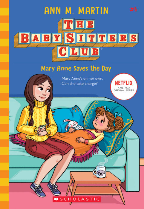 The Babysitters Club #4-  Mary Ann Saves the Day