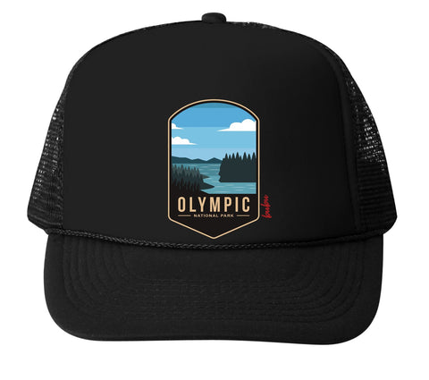 Bubu infant Olympic National Park trucker hat