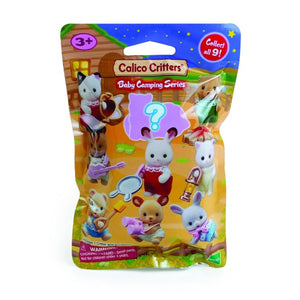Calico Critter camping baby blind packs