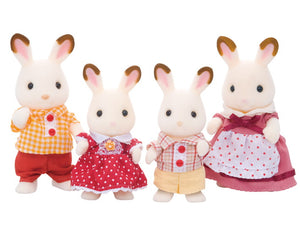 Calico Critter hopscotch rabbit family