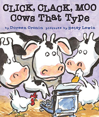Click, Clack, Moo, Cows That Type board book