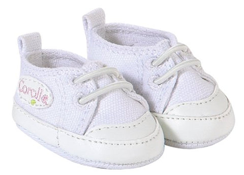 "Corolle 14"" doll shoes- white tennies"