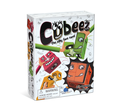 Blue Orange Cubeez. Matching game. 2 to 4 players for ages 6 and up.