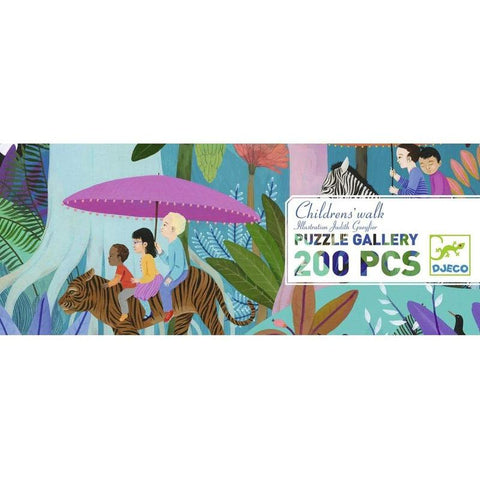 Djeco 200 pc gallery puzzle- Childs Walk