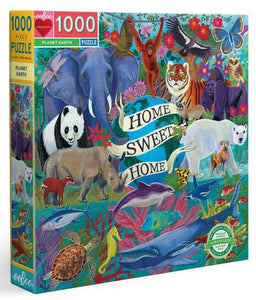 eeboo 1000 piece jigsaw puzzle planet earth