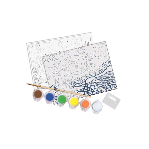 Faber-Castell paint by number museum series- Starry Night