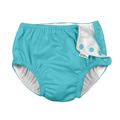 green sprouts infant swim diaper aqua
