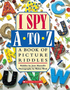 I Spy A to Z Book