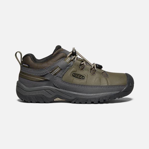 Keen boy targhee low waterproof- dark olive