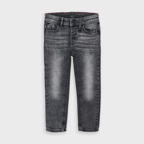 Mayoral boys grey soft denim pant