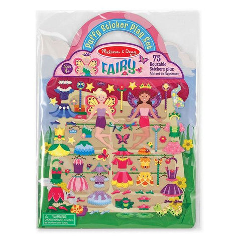 Melissa & Doug puffy sticker playset- fairy