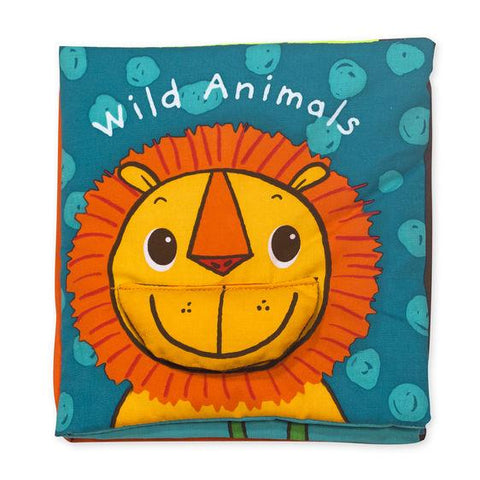 Melissa & Doug wild animals cloth book