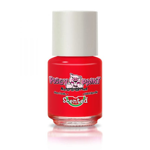 Piggy Paint natural scented nail polish- Watermelon