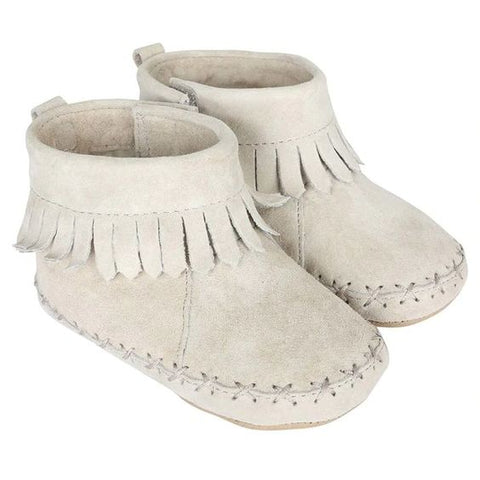 Robeez uni ankle moccasin- Gray
