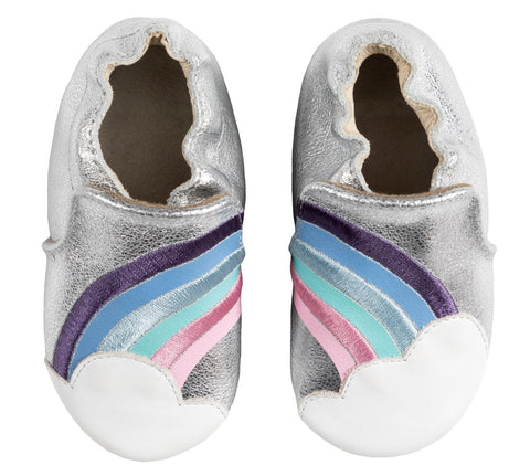 Robeez girls soft sole shoes- Hope Rainbow