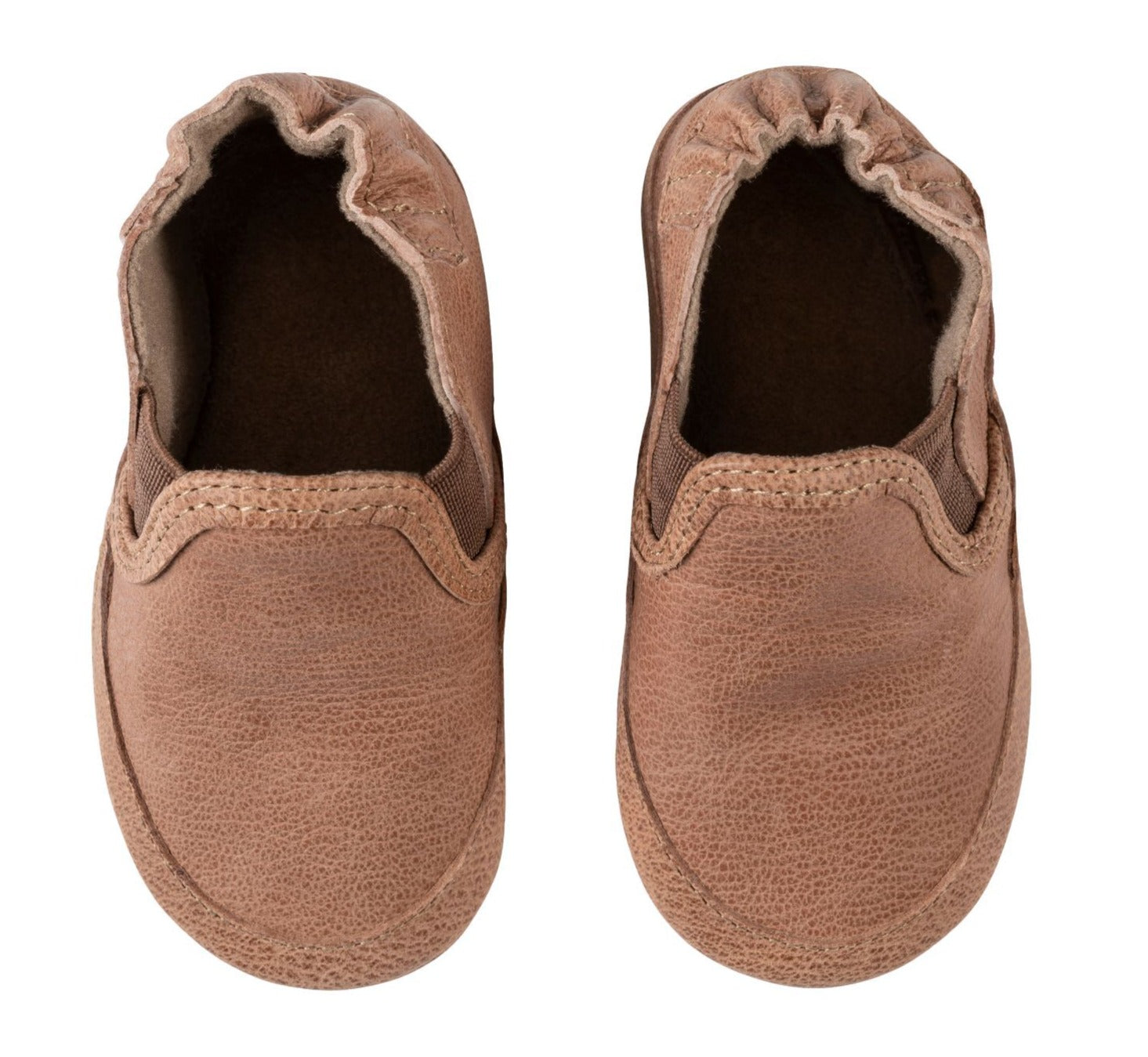 Robeez boys soft sole shoe- Liam Camel