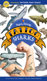Super, strong shark tattoos