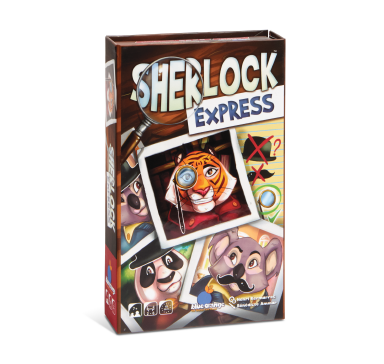Blue Orange Sherlock Express. Card game. 2-6 players age 7 and up.
