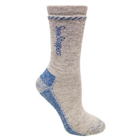 Snowstoppers Alpaca wool socks- gray