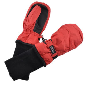 Snowstoppers waterproof mittens- red