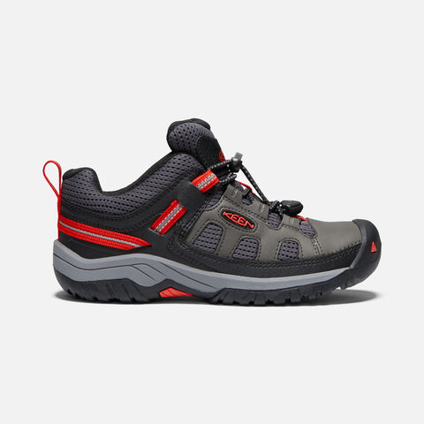 Keen boys targhee low- grey/red