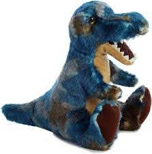 Aurora 8 inch Plush T-rex with Sound Stuffed Animal Toy Plush Pet Dinosaur