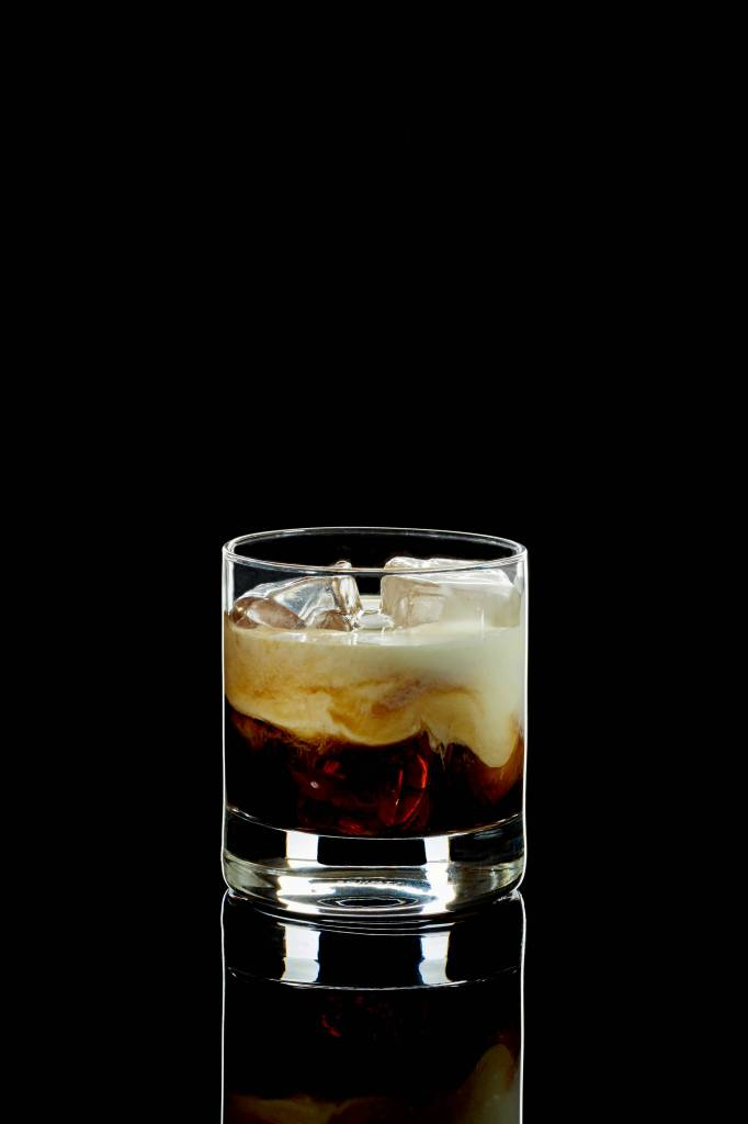 "Veganes Cocktailrezept für ""White Russian"" Cocktail"