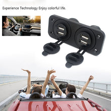 Load image into Gallery viewer, 12-24V DC 5V 2.1A USB Car Charger Car Boat truck