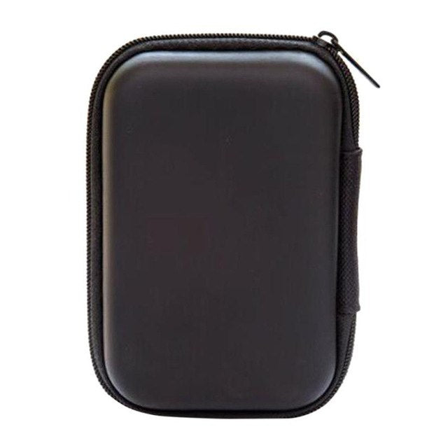 14*10CM Black zipper outdoor storage case box