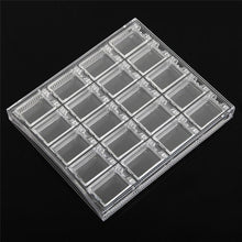 Load image into Gallery viewer, 20 Grids Clear Acrylic Decoration Nail Art storage