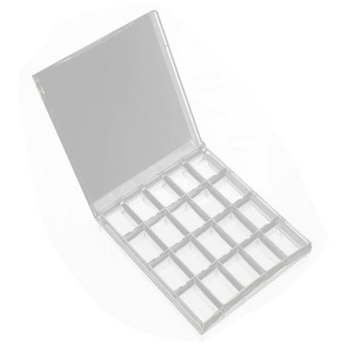 20 Grids Clear Acrylic Decoration Nail Art storage