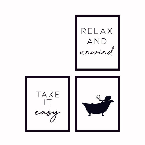 Relax Wall Art Collection