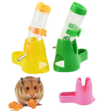 Load image into Gallery viewer, 3 IN 1 Plastic Pet Hamster Water Bottle Feeder